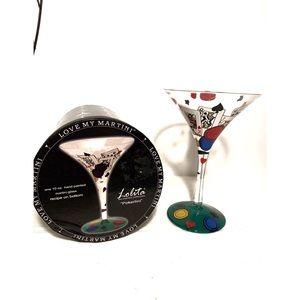 "Lolita ""Pokertini"" Martini Glass"
